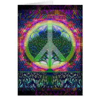 Weltfriedensbaum des Lebens Karte