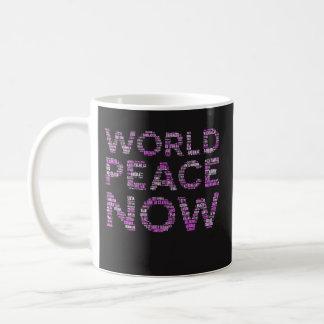 Weltfriedenskaffee-Tassen-lustiges feministisches Kaffeetasse