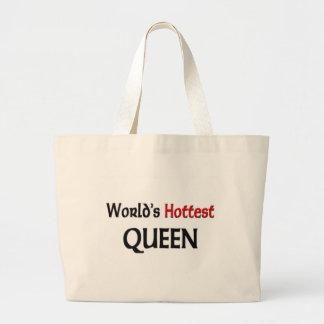 Weltheißeste Königin Jumbo Stoffbeutel