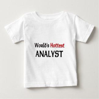 Weltheißester Analytiker Baby T-shirt