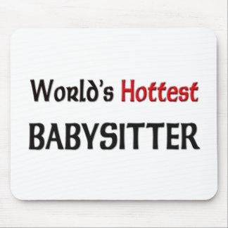 Weltheißester Babysitter Mousepad