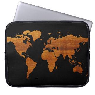 Weltkarte Computer Schutzhüllen