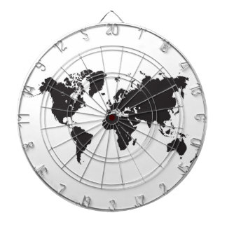 Weltkarte-Dartscheibe Dartscheiben
