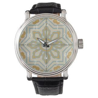 Welts-dekoratives Fliesen-Muster Uhren