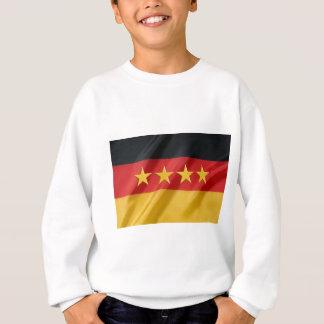 Weltschale Flagge Sweatshirt