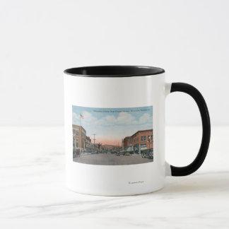 Wenatchee Allee-Ansicht von Orondo Allee Tasse