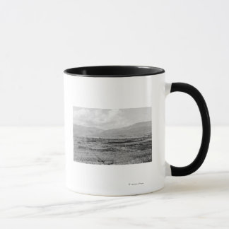 Wenatchee, WA Stadtansicht und Tasse