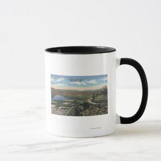 Wenatchee, WashingtonView von Ohme arbeitet # 1 im Tasse