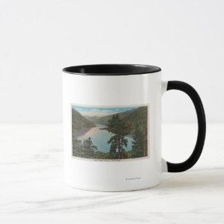 Wenatchee, WAView von See Chelan Tasse