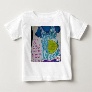 Wenn du denkst.....ein Lichtlein brennt Baby T-shirt