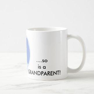 Wenn ein Kind geboren ist, ist so ein Großvater Kaffeetasse