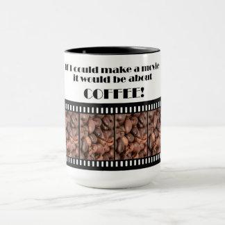Wenn ich einen Film machen könnte, würde er über Tasse