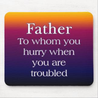 Wenn im Problem-Vater Mauspads