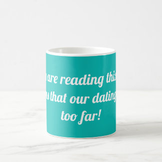 Wenn Sie diesen Text lesen, bedeutet er…. Kaffeetasse