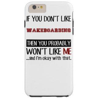 Wenn Sie Wakeboarding nicht cool mögen Tough iPhone 6 Plus Hülle