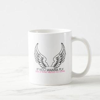 Wenn Sie wollen, um zu fliegen… Kaffeetasse