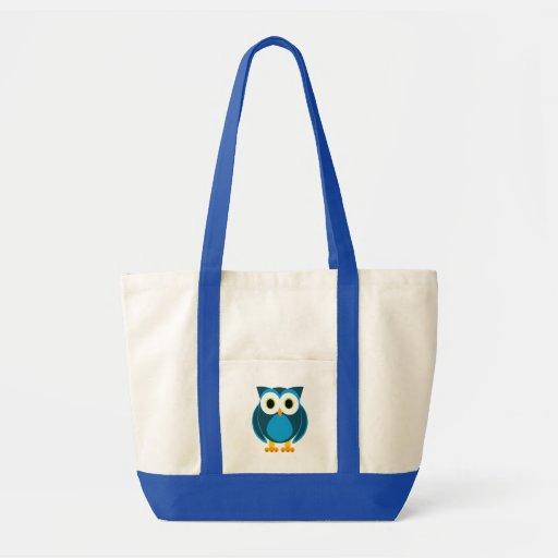 Wer herr owl cartoon tasche