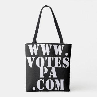 Werden Sie registriert? Abstimmungs-Tasche