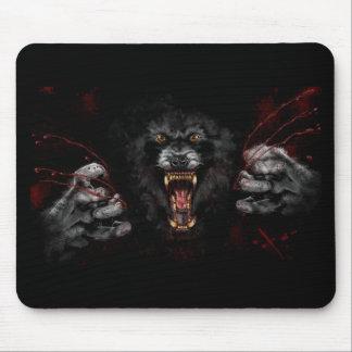Werewolf, der heraus Ihr Herz zerreißt Mauspad