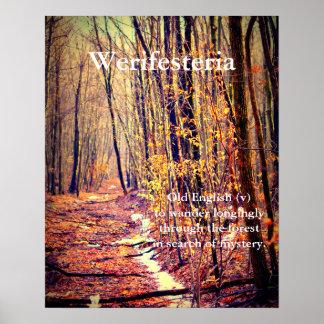 Werifesteria Poster