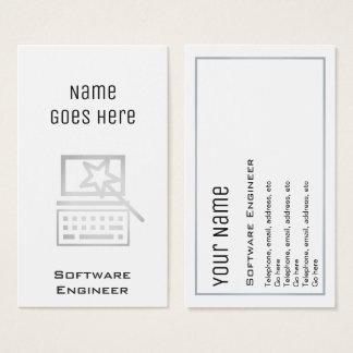"""Wesentliche"" Software Engineer Visitenkarten"