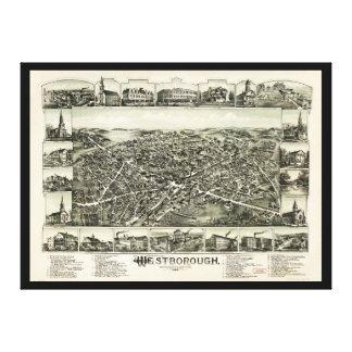 Westborough Massachusetts (1888) Leinwanddruck