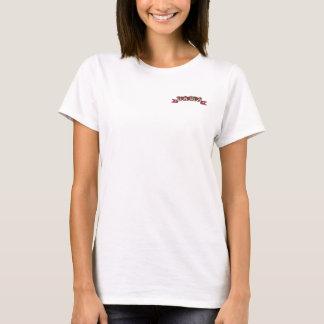 Western-Art-Hochzeits-T - Shirt (Spanisch-DAMA)