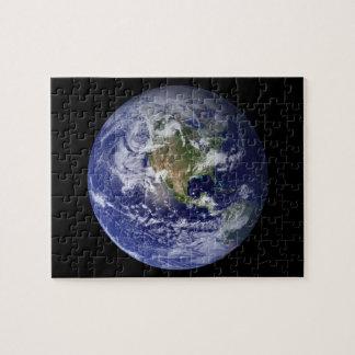 Western-Hemisphäre von Erde vom Raum Puzzle