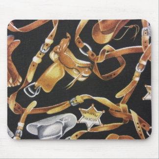 Western-Reißnagel Mousepad