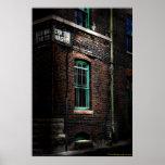 Westunterseiten-Kansas Cityvorstadtfoto-Kunst Plakatdrucke