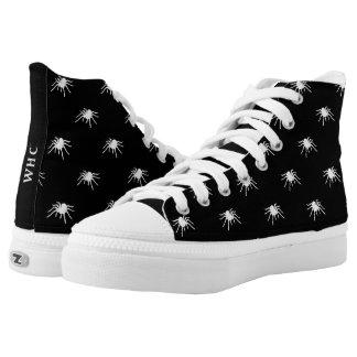 WHC - Hallo-Spitze Spinnen-Schuhe Hoch-geschnittene Sneaker