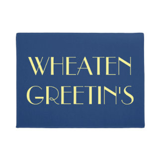 Wheaten Greetins Türmatte