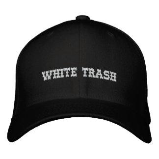 White Trash-Kappe Bestickte Baseballkappe