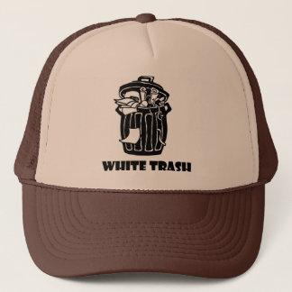 White Trash-Mülleimer Truckerkappe