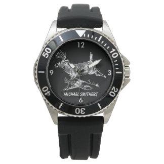 Whitetail-Dollar mit großem Gestell Armbanduhr
