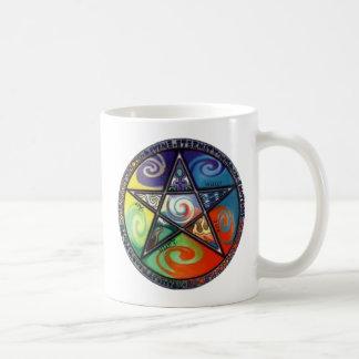 Wiccan Pentagram Tasse