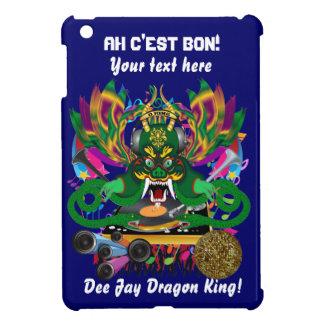 Wichtige Ansicht Karneval D.J. Dragon König deutet iPad Mini Schale