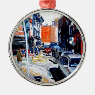 Wicklow-Straße Dublin Silbernes Ornament