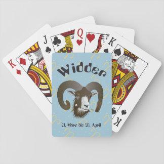 Widder 21. März bis 20. April Spielkarten