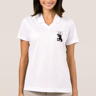 Widder-Tierkreis-weibliche Art mit Namen Poloshirt