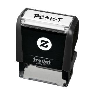 Widerstehen Sie/Widerstand-Briefmarke Permastempel