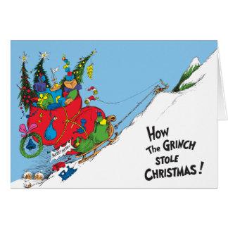 Wie das Grinch Weihnachten stahl! Karte