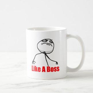Wie ein Chef Kaffee Tasse