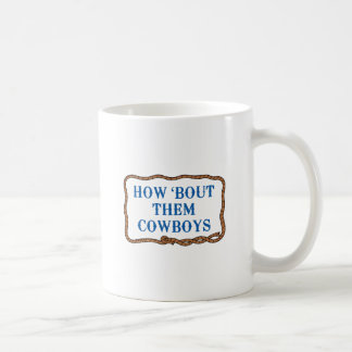 WIE KAMPF SIE COWBOYS TASSE