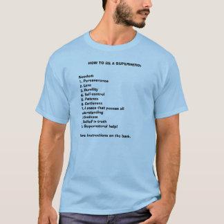 WIE MAN EIN SUPERHELD IST: T-Shirt