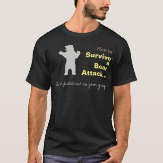 Wie man einen Bärn-Angriffs-lustigen T - Shirt