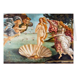 Wieder hergestellte und Recolored Botticelli Karte