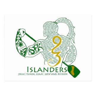 Wiedersehen-Gang JFK Inselbewohner-93 Postkarte