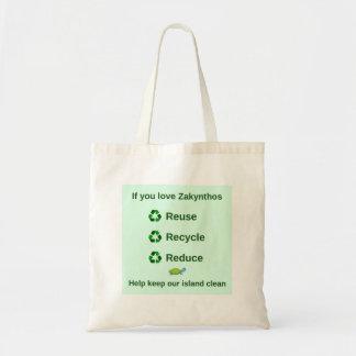 Wiederverwendbare Tasche Zakynthos - behalten Sie