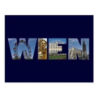 Wien Logo Wien Österreich Postkarte